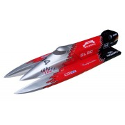 F1 Power Boat 1300GP260(Silver,Red,Black)