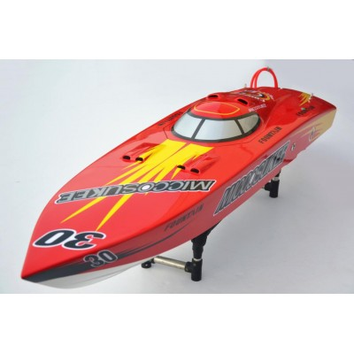 "50"" RC Gas Racing Boat RTR - MICCOSUKEE 30 (Engine+Radio+boat stand ) Very Fast"