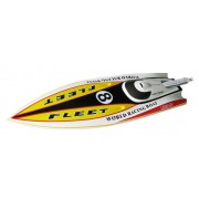 Flame Racing Boat 1300GP260(Yellow,White)
