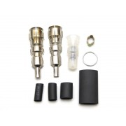 RCEXL Spark plug caps and boots for NGK -CM6-10MM KIT Straight