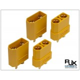 XT90 Connector Yellow - Male and Female x2pairs