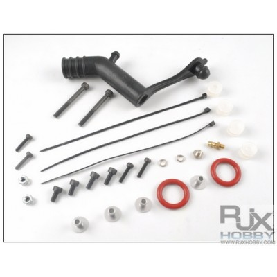 All Spare Parts for Hatori and RJX90 Muffler ( OS and YS)