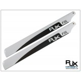RJX White 325mm CF Blades -FBL Version