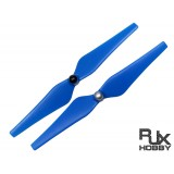 RJX 9443 Blades Self-Tightening Prop Set (for DJI Phantom V2) (Blue)