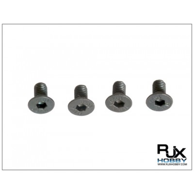 Flat hex Screw M3X6 X4