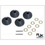 POM Output Bevel Gear x4