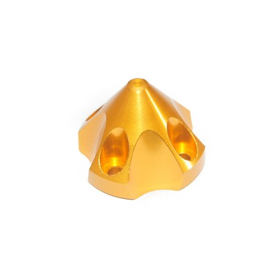 CNC Aluminum Alloy Golden 3D Spinner For DLE30 / TGY32
