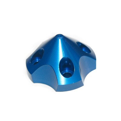 CNC Aluminum Alloy Blue 3D Spinner For DLE55 / TGY56