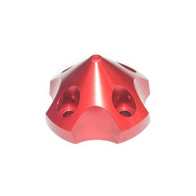 CNC Aluminum Alloy Red 3D Spinner For DLE55 / TGY56