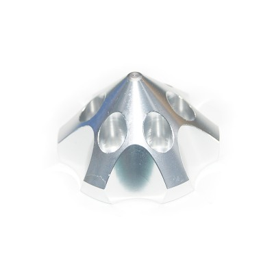 CNC Aluminum Alloy Silver 3D Spinner For DLE85/111/120  3W55/106