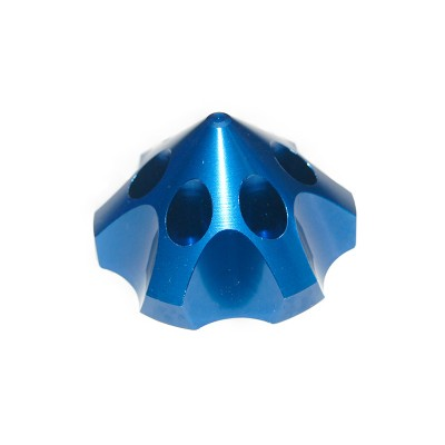 CNC Aluminum Alloy Blue 3D Spinner For DLE85/111/120  3W55/106