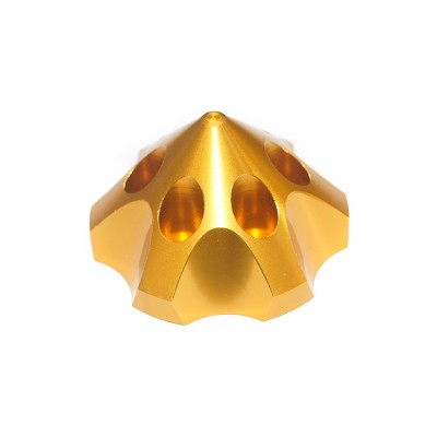 CNC Aluminum Alloy Golden 3D Spinner For DLE85/111/120  3W55/106