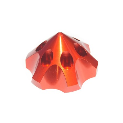 CNC Aluminum Alloy Red 3D Spinner For DLE85/111/120  3W55/106