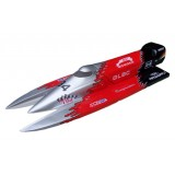 F1 Power Boat 1300GP260(Silver,Red,Black)