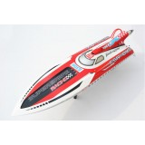 "54"" FSR-OX RC Gas Deep Vee Racing Boat RTR 30cc Engine+Radio+tuned pipe"
