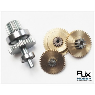 RJX Replacement Gear Set for Micro Size HV Servo (for FS-0435HV)
