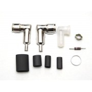 RCEXL Spark plug caps and boots for NGK -CM6-10MM KIT 90degree