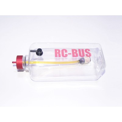 RC-BUS 32oz / 1000cc / 1000ml Clear Two-Line Gas Tank