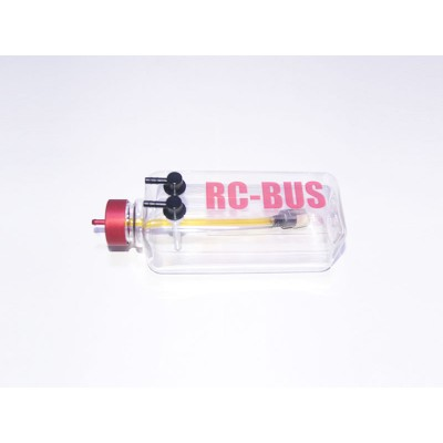 RC-BUS 16oz / 500cc / 500ml Clear Three-Line Gas Tank