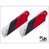 RJX Red 95mm CF Tail Blades