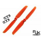 RJX ABS 6030 Blades Quadcopter CW&CCW (Orange)