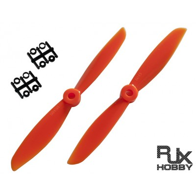RJX ABS 6045 Blades Quadcopter CW&CCW (Orange)