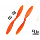 RJX ABS 9047 Blades Quadcopter CW&CCW (Orange)